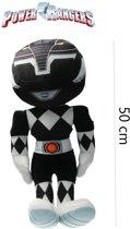 Power Ranger knuffel - pop  50 cm zwart