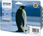 Epson T559 - Inktcartridge / Kleuren