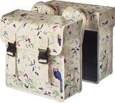 Basil Wanderlust Double Bag Dubbele Fietstas - 35 Liter - Ivory Wit