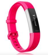 Classic Siliconen Bandje Roze voor FitBit Alta HR – Small