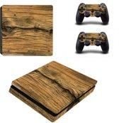 Wood V3 - PS4 Slim skin