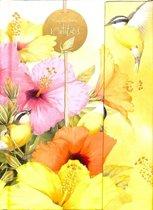 Notitieboek A5 Hallmark geel, Marjolein Bastin
