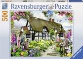 Ravensburger puzzel Idyllische cottage - Legpuzzel - 500 stukjes