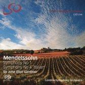 Mendelssohn - Symphony No. 1 & Symphony No. 4