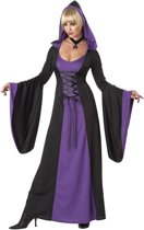 Paarse vampier outfit voor dames  - Verkleedkleding - XL