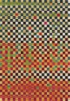 Vintage Collectie Laagpolig Vloerkleed Vincent 80x150 CM - Multi