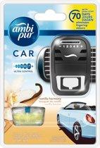 Ambi Pur Luchtverfrisser Vanille - Luchtverfrisser Voor In De Auto - Auto luchtverfrisser - 7ml