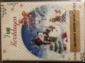 Kerstkaarten 14 stuks 15 x 10,5 cm  kerst kaarten