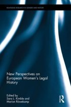 New Perspectives on European Women's Legal History