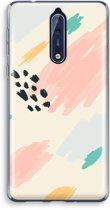 Nokia 8 Transparant Hoesje (Soft) - Sunday Chillings