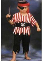 Piraat - Kostuum - Maat 128