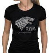 Merchandising GAME OF THRONES - T-Shirt Winter Is Coming Femme (L)