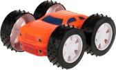 Toi-toys Flipover Frictie Auto 9cm Oranje/rood