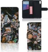 Sony Xperia L3 Telefoonhoesje met foto Badges