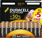 Duracell Plus Power alkaline AA-batterijen - 20 stuks