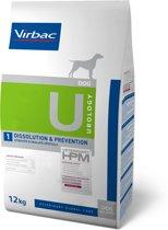 VIRBAC HPM canine dissolution/prevention struvite & oxalate crystals U1 12KG
