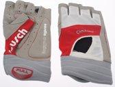 Reusch Nordic walking handschoen embla walking wit rood - Maat 6