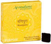 Aromafume Chakra Wierookblokjes: Manipura - solar plexis chakra
