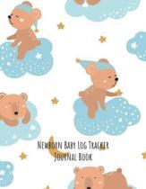 Newborn Baby Log Tracker Journal Book
