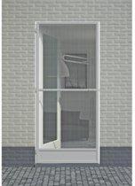 Hordeur fikszo de luxe zilvergrijs hoogte tot 235 breedte tot 100cm