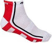 Rogelli RCS 04 sokken - wit/rood/zwart