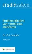 Boek cover Studiezaken van K.A. Soudijn (Paperback)