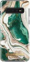 iDeal of Sweden Samsung Galaxy S10 Fashion Back Case Golden Jade Marble