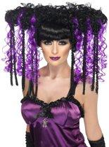 """""""Gothic halloweenpruik voor vrouwen - Verkleedpruik - One size"""""""