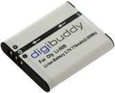 Digibuddy Camera accu compatibel met o.a. Olympus Li-50B - 770 mAh
