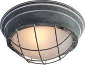 Industriële Plafondlamp  Ø 29 cm Betongrijs