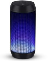 ELEHOT - Draagbare Bluetooth-luidspreker Licht Draadloze Met LED-licht FM-radio Functie TF