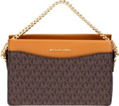 Michael Kors Large Convertible Chain Xbody Dames Crossbodytas - Acorn