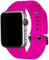 38mm en 40mm Sport bandje barbie pink geschikt voor Apple watch 1 | 2 | 3 | 4 Watchbands-shop.nl