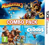Madagascar 3/The Croods Double Pack /3DS