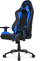 AKRACING Nitro Gaming Racestoel - Blauw (PS3 + PS4 + Xbox360 + XboxOne + PC + Wii U)
