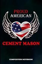 Proud American Cement Mason