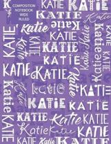 Katie Composition Notebook Wide Ruled