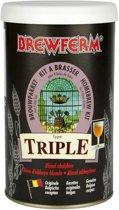 Zelf bier brouwen pakket Tripel 9 liter