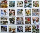 Wenskaarten - Winter - Set van 20--L-020