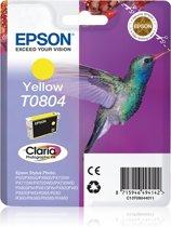 Epson T0804 - Inktcartridge Geel