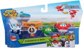 Super Wings  Transforming  Mini Jett、Albert、Mira、Paul - Speelfiguren