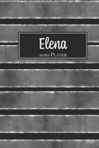 Elena 2020 Planer: A5 Minimalistischer Kalender Terminplaner Jahreskalender Terminkalender Taschenkalender mit Wochen�bersicht
