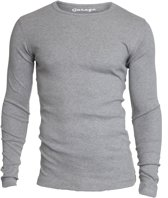 Garage 303 - T-shirt 1-pack Semi Body Fit Long Sleeve R-Hals Grijs Melange - XL