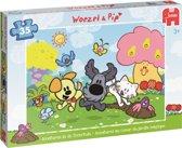 Woezel & Pip - Tovertuin - Puzzel - 35 Stukjes