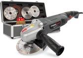 Powerplus POWESET2 Haakse slijper - 900 W - 125 mm - incl. 6 accessoires