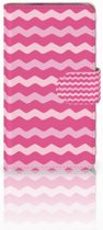HTC Desire 310 Hoesje Waves Pink