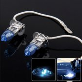 HOD H3 halogeenlamp, super witte koplamp voor auto, 12 V / 100W, 6000K 2400 LM (paar)