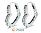 Hart Oorbel | Bedels Charms Beads | 925 sterling silver | net zo waardevol als pandora maar dan goedkoop | direct snel leverbaar | Oorbel | Hart