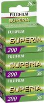 FUJI SUPERIA 200 36 3 PAK