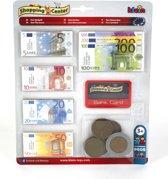 Euro speelgeld met Creditcard